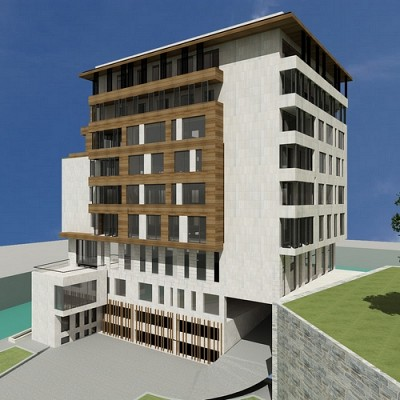 New Residental&Business Building in Podgorica